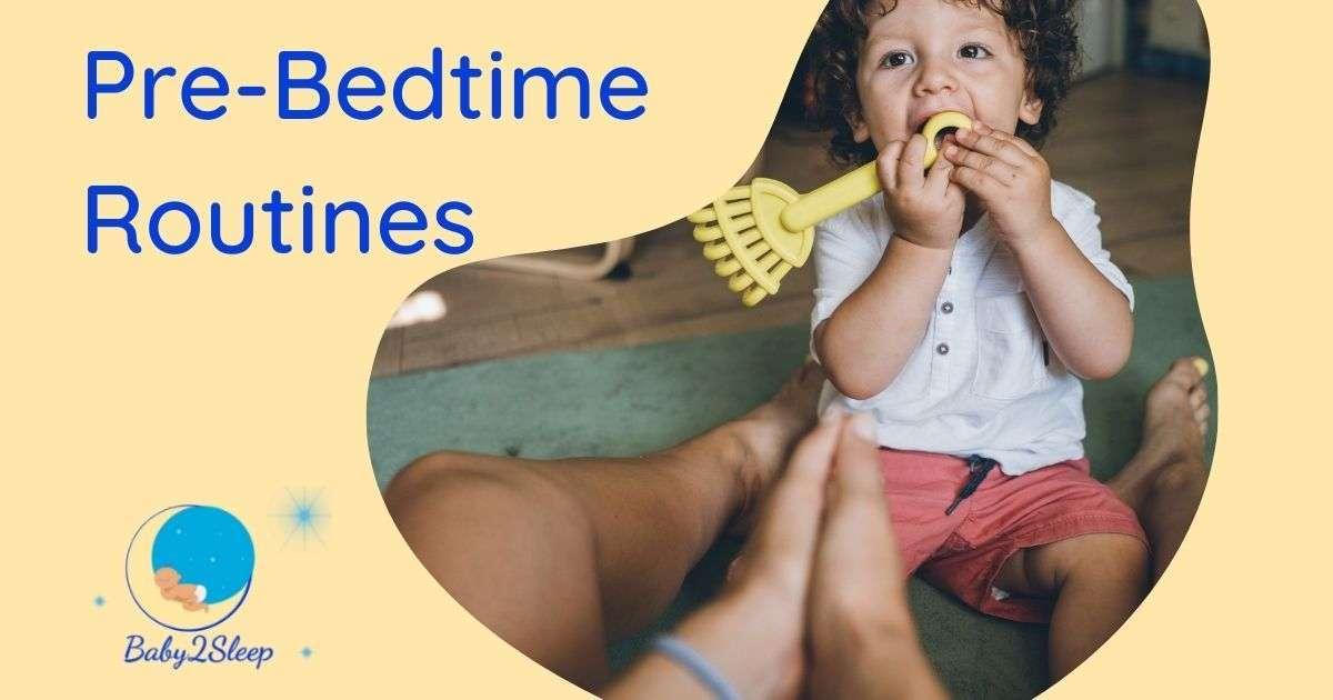 Pre-bedtime routine