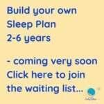 toddler sleep plan 2-6 years