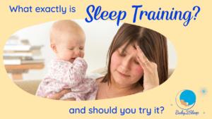 what is sleep training